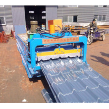 Smooth Glazed Roll Tile Forming Machine