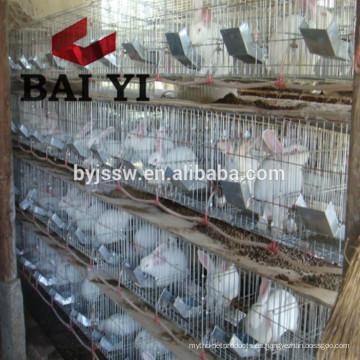 Jaula de conejo de 24 puertas con acero inoxidable