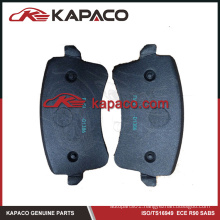 Best Ceramic brake pad made in china for Audi D1386 8K0698451