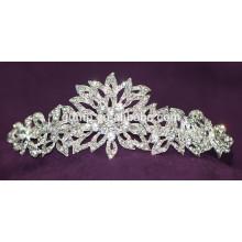 Новый дизайн Скидка Блестящий Кристалл Свадебная корона Пользовательские Tiara Свадебный