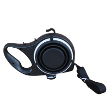 Hot Selling Retractable Dog Leashes With Water Bottle Convenient Pet Bowl Pet Supplies For Training Walking Dog Harness