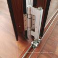 Tripple laminated tempered glass soundproof aluminium frame veranda bifold doors