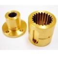 Pièces de lustre en laiton d'usinage CNC de précision personnalisée