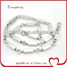 Corrente de colar de aço inoxidável para homens