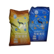 O saco do alimento para cães / levanta-se o saco da alimentação do cão / saco selado Quad-Lado