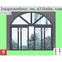 Doppelt verglaste Bogen Schiebefenster, kommerzielle Doppeltüren und Fenster, dekorative Innen-Doppel-Fenster