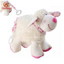 12 cm al por mayor Lovely Mini Plush Sheep Doll para niña