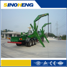 30t Side Lifter Semi Trailer with XCMG Crane