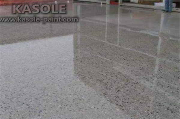 Epoxy Floor Finish on Concrete