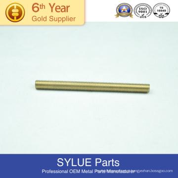 Não usinagem de micro usinagem micro ou não e latão Material Capacidades Peças de encabeçamento a frio