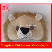 Máscara de león de fiesta de juguete de animal plush