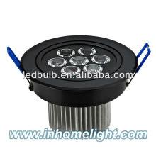 Lampe LED en alliage d'aluminium de qualité supérieure de 7W