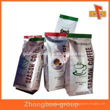 Laminação calor selado embalagem de folha de alimentos / líquido / lanche com forma personalizada