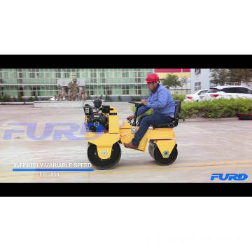 Wholesale Ride-on Road Roller 700 kg Vibration Road Roller