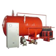Gasbetriebene Wasserversorgungsausrüstung für den Brandschutz