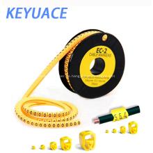 EC-1 Electric PVC Marcadores de cable de plástico de alta calidad