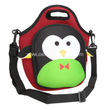 Kids cute animal lunch tote bag insulated