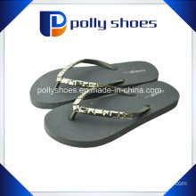 Women′s Shimmy Flip Flop Sandal Black Size 6 New Tags