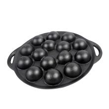 Cast Iron Aebleskiver Pan, 15 Holes
