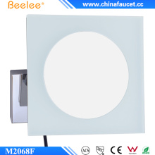 Beelee Square Acrylic LED Mirror Without Frame