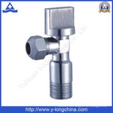 Válvula angular de latón de cromado para el cuarto de baño (YD-5018)