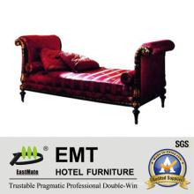 Muebles del dormitorio del hotel del taburete del paso de la cama del nuevo diseño (EMT-BS09)