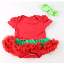 wholesale Christmas Printed Cheap Infant Clothing Rompers