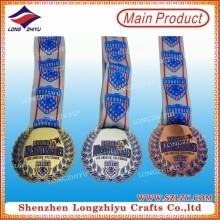 Fabrik Preis Werbe-Gold Plating Medaille mit Ihrem eigenen Design