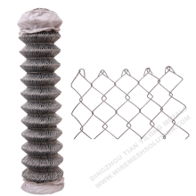 Galvanized 14 gauge Chain Link Fence