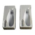 bandeja de blister de caja de embalaje de cabezal de ducha blanco PS