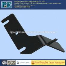 Stanzen 45 Stahl kleine Halterung, Biegewinkel, schwarze Oxid Beschichtung Halterung