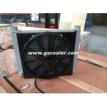 Охладитель гидравлического масла с вентилятором и кожухом