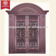 Kommerzielle oder Wohn-Bronze-Tür, zweiflügelige Kupfer-Tür