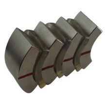 Керамический дуговой сегментный магнит для двигателя