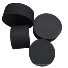 Isostatic block molded rounds high purity graphite cube
