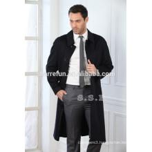 China factory customize 100% pure cashmere men winter coats