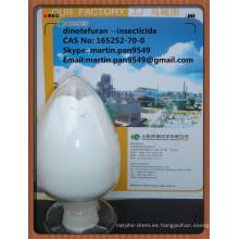 Eficaz, insecticida neonicotinoide, Dinotefuran 20% SP, CAS No.165252-70-0
