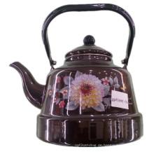 Porzellan Emaille Teekanne, Keramik Emailliert Kessel, Kohlenstoffstahl Wasserkocher