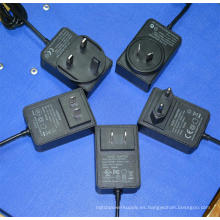 5V 3A 6V3a 9V 2.6A 10V 2.4A 12V 2A 15V 1.6A 24V 1A adaptador de corriente