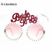 rosa übergroße alles- Gute zum Geburtstagparty-Sonnenbrille