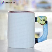 Sublimation tasse blanche animée renard