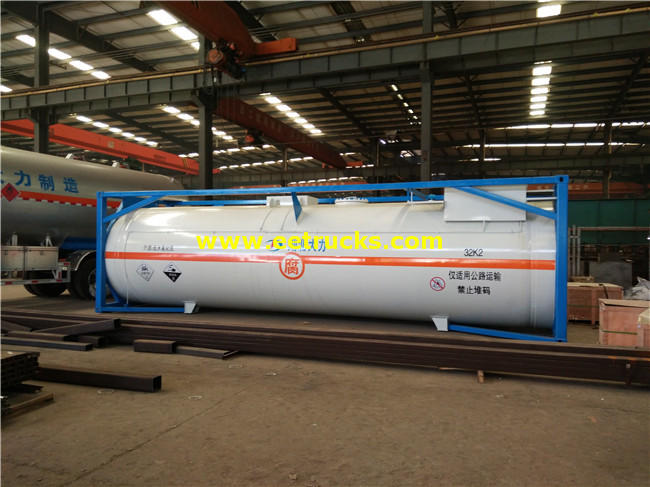 HCl Tank Storage Container