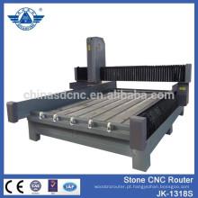 Máquina de gravura em pedra CNC JK-1318S para gravar letras e imagens em monumentos