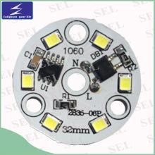 220V 3W LED PCB luz con IC (32 mm)