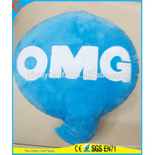 Charming Fashion High Quality Novelty Design Plush Letter Shaped Pillow