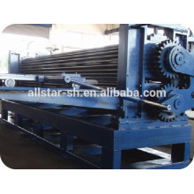 Barrel type large wave corrugated roll forming machine