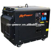 5kw Generadores portátiles de electricidad portátiles silenciosos