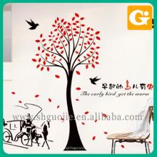 Projete a impressão decorativa do papel da etiqueta da parede