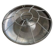 Stainless Steel Metal Material Pig feed pan Wet Feeding Pan for Pig Farm