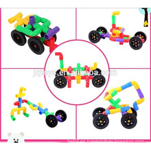 2015 nuevo artículo Desarrolle el juguete educativo de la inteligencia Pipeline los bloques huecos del coche para los cabritos